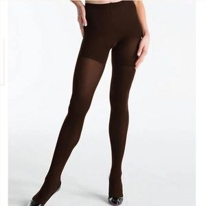 Spanx High Waist Shaping Tights Bittersweet Brown